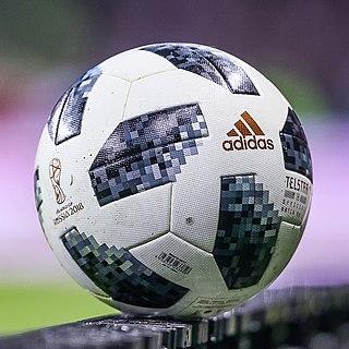 Adidas Telstar 18 official match ball of the 2018 FIFA World Cup