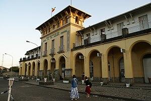 Railway stations in Ethiopia - Image: Adis Station