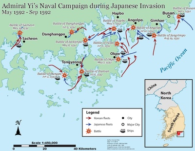 Japanese invasions of Korea 159298  Wikipedia