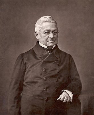 Paris Commune - Adolphe Thiers, the chief executive of the French Government during the Commune