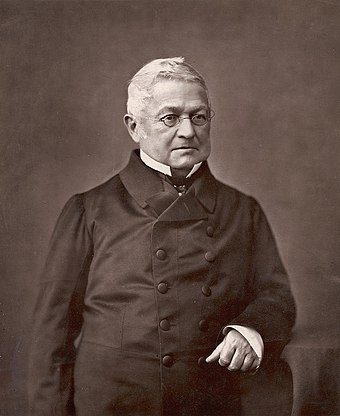 Adolphe Thiers, the chief executive of the French Government during the Commune Adolphe Thiers Nadar 2.JPG