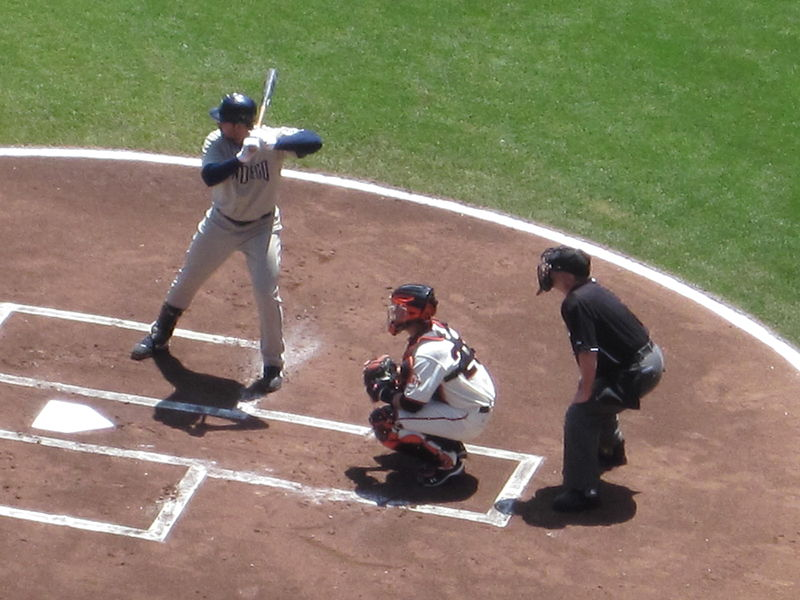 File:Adrian Gonzalez at bat at Padres at Giants 2010-08-15 1.JPG