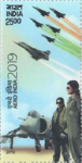 Aero India India 2019 stamp of India (Rs. 25).png