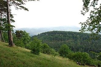 Aesch, Basel-Landschaft - Hills around Aesch