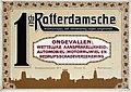 Affiche van de 1ste Rotterdamsche Maatschappij van Verzekering Tegen Ongevallen op Plan C 1920 - 1940.jpg
