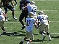 Aggies on offense at UC Davis at Cal 2010-09-04 17.JPG