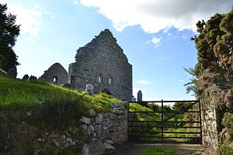 Aghowle Church - Image: Aghowle Church From Entrance