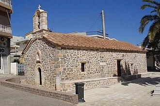 Magoula, Attica - Image: Agios Dimitrios church in Magoula
