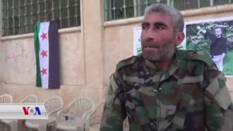 "Army of Revolutionaries - Ahmed Mahmoud Sultan, also known by his nom de guerre ""Abu Araj"", the general commander of the Army of Revolutionaries."