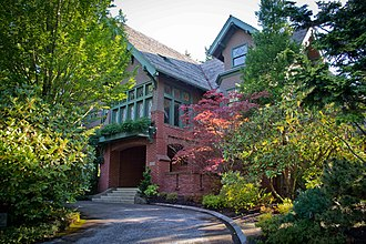 National Register of Historic Places listings in Southwest Portland, Oregon - Image: Ainsworth House