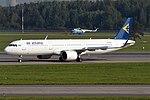 Air Astana, P4-KDD, Airbus A321-271N (43587511245).jpg