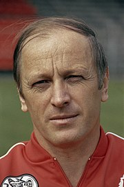 Ajax selectie seizoen 1981 1982 nr. 3a , 4a, 5a trainer Kurt Linder , kop, nr, Bestanddeelnr 253-8570
