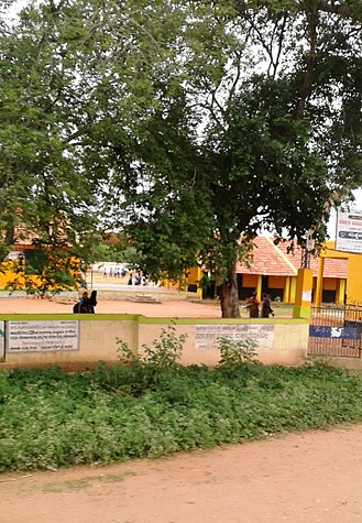 Mysore district - Akkihebbal School, Bherya