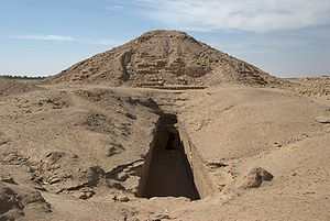 Twenty-fifth Dynasty of Egypt - Image: Al Kurru,main pyramid