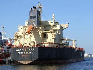 Alam Bitara IMO 9181003 p1 at Port of Amsterdam, Holland 09-Sep-2006.jpg