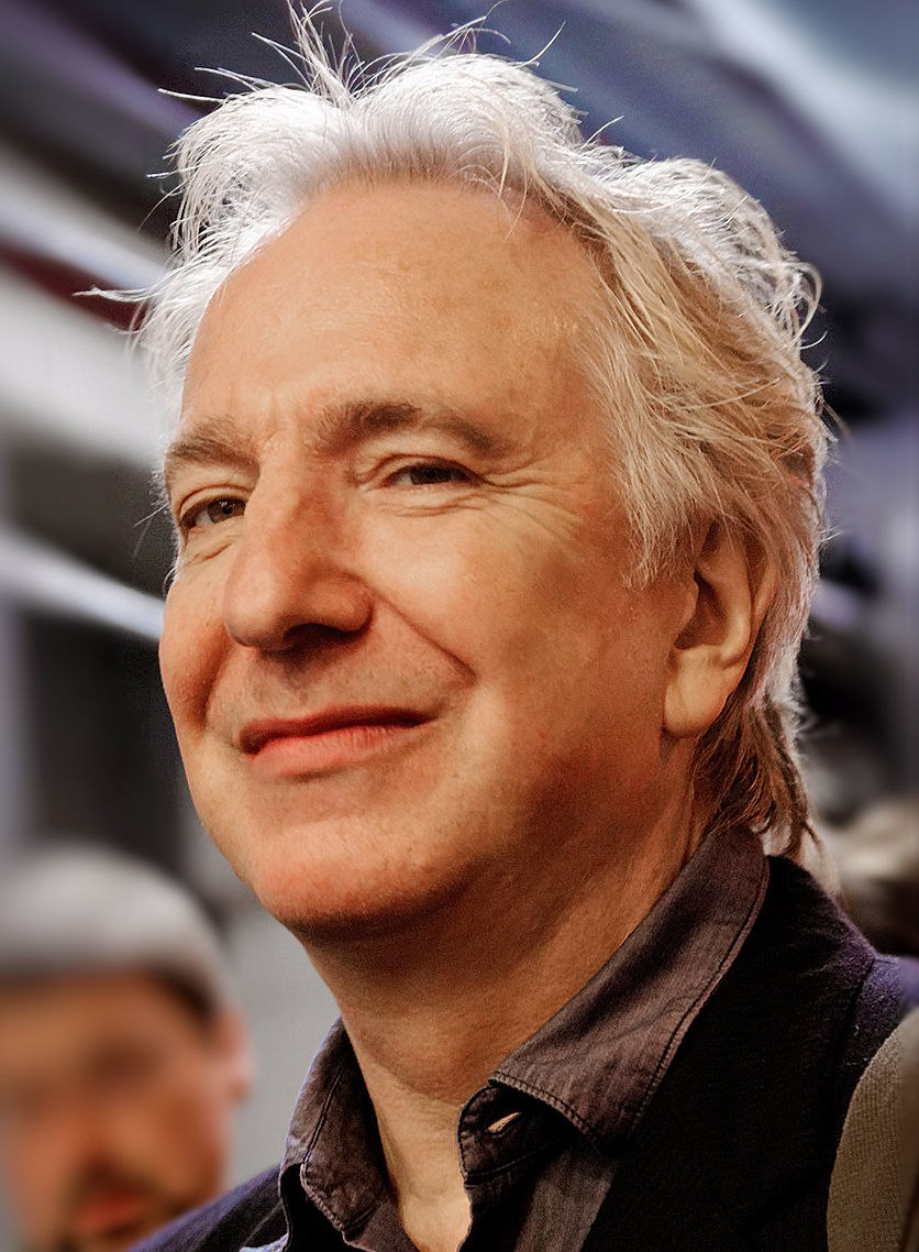 Alan Rickman cropped and retouched