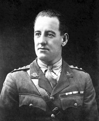 Albert Jacka - Captain Albert Jacka c. 1920