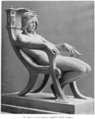 Albert Toft (1862-1949) - The Spirit of Contemplation (possibly a plaster verson) (1901).png