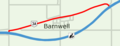 Alberta Highway 3A Barnwell Map.png