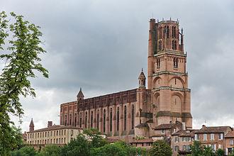 Albi Cathedral - Image: Albi Cathédrale Sainte Cécile Vue générale