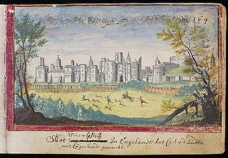 James I of Scotland - Windsor Castle, where James I was held prisoner