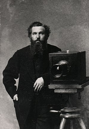 Photographers of the American Civil War - Alexander Gardner, 1856 self-portrait