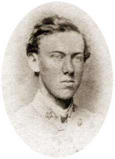 Sandie Pendleton Confederate army officer