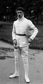 Alexandre Lippmann French fencer
