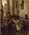 Alfred Dehodencq - Arrestation de Charlotte Corday, après le meurtre de Marat - P71 - Musée Carnavalet.jpg