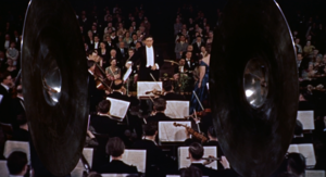 Bernard Herrmann - Herrmann conducting the orchestra in a scene from The Man Who Knew Too Much (1956)