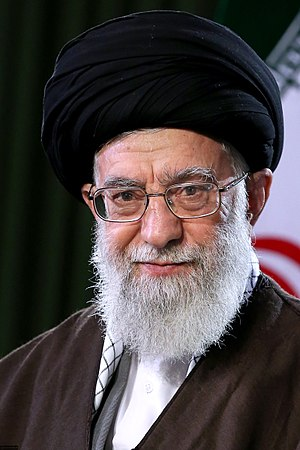 Supreme Leader of Iran - Image: Ali Khamenei Nowruz message official portrait 1397 01