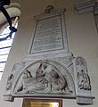 All Saints Church Farley, Wiltshire, England - Henry Thomas, 2nd Earl of Ilchester memorial.jpg