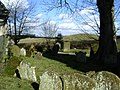 All Saints churchyard, Lilbourne - geograph.org.uk - 1731219.jpg