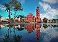 Allan Jay Quesada - Tuguegarao Cathedral Exterior reflection DSC 0452.jpg