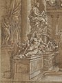 Allegory in Honor of Cardinal Antonio Barberini the Younger (1607-1671) (Design for an Engraving) MET DP144123.jpg