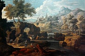 Étienne Allegrain - Image: Allegrain Classical landscape
