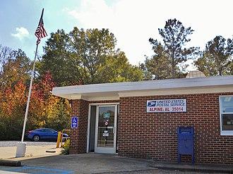 Alpine, Talladega County, Alabama - Alpine Post Office