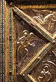 Altare di s. ambrogio, 824-859 ca., lato dx dei maestri delle storie di cristo, angeli e santi che adorano la croce gemmata 02.jpg