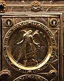 Altare di s. ambrogio, 824-859 ca., retro di vuolvino, arcangeli e scene di omaggio 03 gabriele.jpg