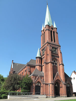 Essen - Alte Kirche (Old Church, built 1887), Altenessen