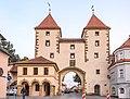 Amberg, Stadtbefestigung, Hinter der Mauer 25, Nabburger Tor 20170908 001.jpg