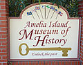 Amelia Island Museum of History sign, FL, US.jpg