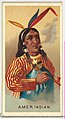 American Indian, from World's Smokers series (N33) for Allen & Ginter Cigarettes MET DP838634.jpg
