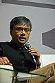 Amit Chaudhuri - Kolkata 2014-01-31 8217.JPG