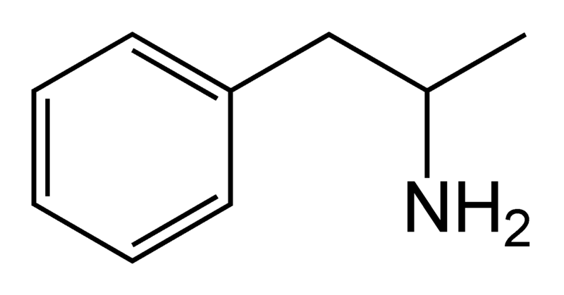 [img width=800 height=419]http://upload.wikimedia.org/wikipedia/commons/thumb/5/50/Amphetamine.png/800px-Amphetamine.png[/img]