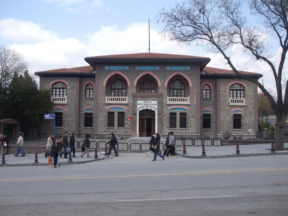 An old parliament Ankara