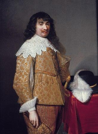 Jan van Ravesteyn - Image: An unknown officer, by Jan van Ravesteyn