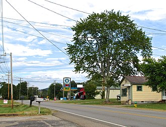 Andersonville, Tennessee - SR 61 in Andersonville