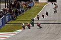 Andrea Iannone leads the pack 2014 Mugello.jpeg