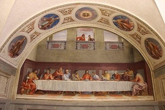 Andrea del sarto, utlima cena di san salvi, 01.JPG
